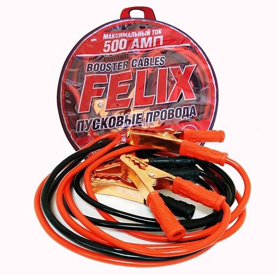 Провода пусковые FELIX 500A